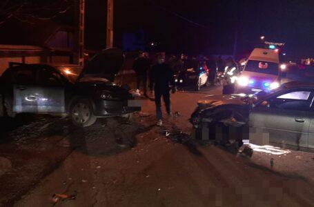 Accident cu 3 victime pe E85, la Botești