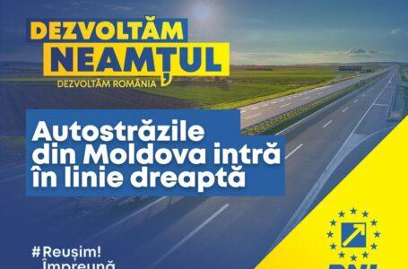 Autostrada Unirii a fost, este și va fi o prioritate a PNL! Au început etapele pregătitoare ale tronsonului Târgu Neamț – Iași – Ungheni!