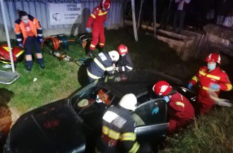 Grav accident rutier la Răucești! Coliziune între un autoturism și un TIR