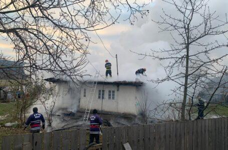 Un bărbat din Bodești a dat foc gospodăriei din care fusese evacuat prin ordin judecătoresc