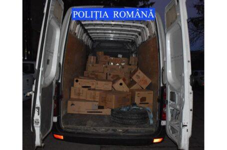 Prins cu aproape două tone de petarde fără documente, la Tașca