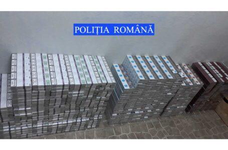 Țigări în valoare de 45.000 lei confiscate de polițiștii din Neamț de la un șofer