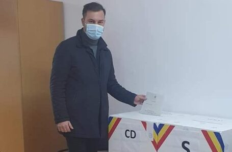 Prefectul George Lazăr: Am votat pentru oamenii cinstiți și muncitori, și pentru dezvoltare!