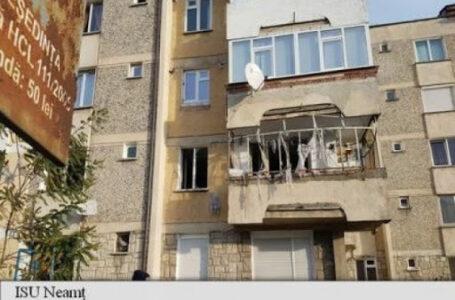 Explozie într-un apartament din Piatra-Neamț! Un bărbat orbit de furie a golit mai multe butelii de gaz! Un copil a fost rănit!