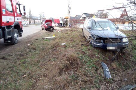 Marțea neagră la Grumăzești: un accident cu 3 victime și un incendiu, în interval de o oră!