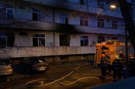 """Tragedia de la Spitalul Județean Neamț se repetă la Institutul """"Matei Balș"""". Patru morți în incendiu, 100 pacienți evacuați."""