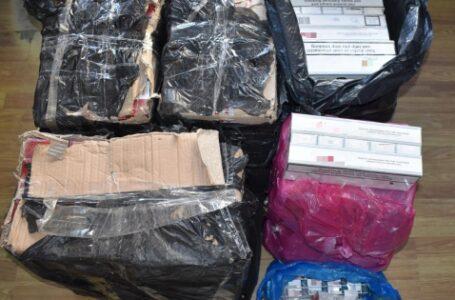 Noi descinderi la traficanţii de ţigări din Piatra-Neamţ