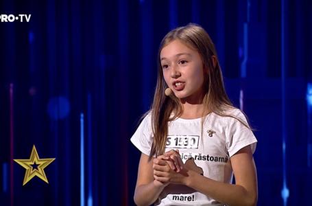 """Ce le-a făcut Sara """"Șoricel"""" din Piatra-Neamț, celor 6 vedete de la """"Românii au talent"""" (video)"""