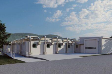 Începe montarea structurii metalice a Spitalului Modular ATI din Piatra-Neamţ