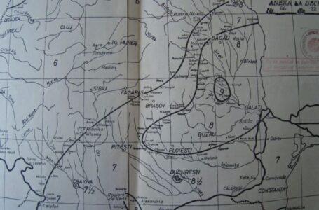 Cutremur de 4,2 grade produs în România, noaptea trecută. Harta seismică de risc include judeţul Neamţ. (foto)