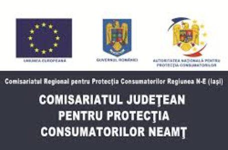 """Vlad Ciurea (comisar şef OPC Neamţ): """"Un consumator bine informat va fi un consumator mulțumit!"""""""