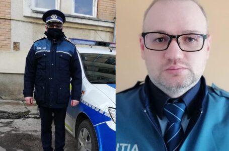 Poliţistul-erou din Neamţ! A salvat 2 persoane dintr-o maşină în flăcări! Autoturismul a explodat!