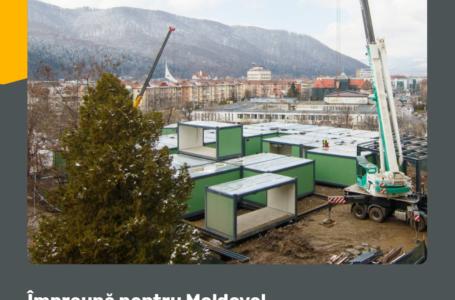 Apel la mobilizare pentru finalizarea Spitalului Modular ATI de la Piatra-Neamț