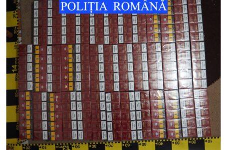 Sute de pachete de ţigări de contrabandă găsite în urma unor percheziţii la Răuceşti