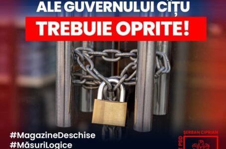 """Ciprian Şerban (deputat PSD Neamţ): """"Măsurile fără logică ale guvernului Cîțu trebuie oprite!"""""""