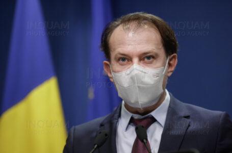 """Premierul Florin Cîţu: """"1 iunie, prima bornă pentru revenirea la normalitate a României!"""""""