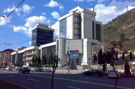 Panică la sediul BCR din Piatra-Neamţ