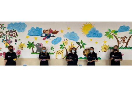 O altfel de descindere a poliţiştilor la o şcoală din Neamţ (foto-galerie)