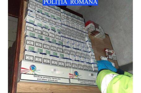 Percheziţii la Răuceşti, la suspecţi de contrabandă cu ţigări