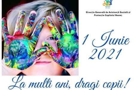 1 Iunie – Ziua Internaţională a Copilului în centrele DGASPC Neamț