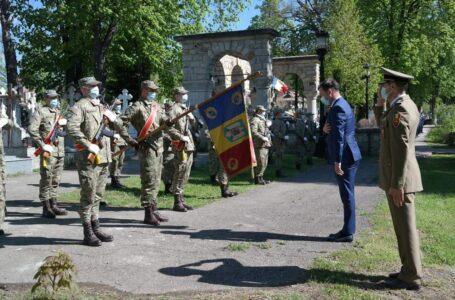 """Prefectul George Lazăr, respect pentru valorile României şi UE! """"Unitate, solidaritate, libertate!"""""""