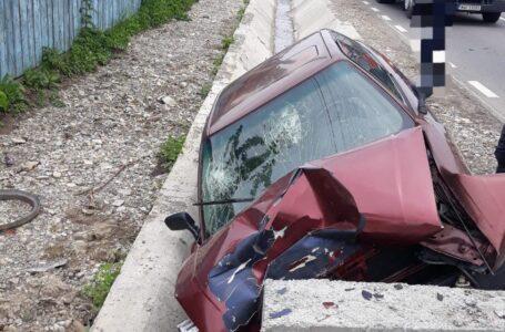 Două victime în urma unui accident rutier pe DN 15C, la Brusturi