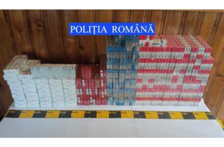 Aproape 1.600 pachete de ţigări de contrabandă, găsite la percheziţii în Piatra-Neamţ