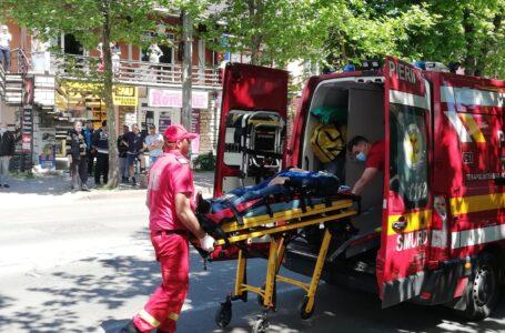 ALERTĂ Pieton accidentat grav pe trecerea de pietoni din zona Gării Piatra-Neamţ (foto)