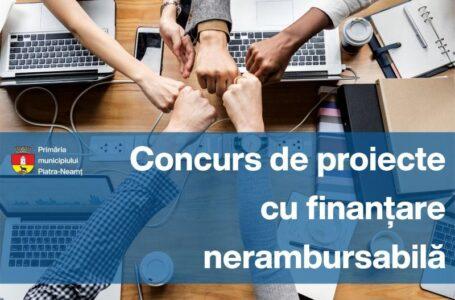 Primăria Piatra-Neamț: Finanțări nerambursabile pentru activități nonprofit de interes local