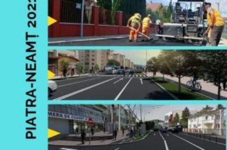 Piatra-Neamț 2021: Cel mai amplu program de asfaltare și modernizare a străzilor