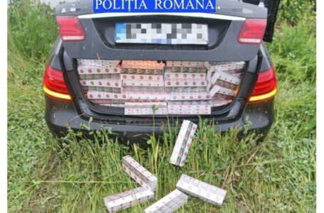 Urmărire ca-n filme în Neamţ, cu un şofer care transporta ţigări de contrabandă