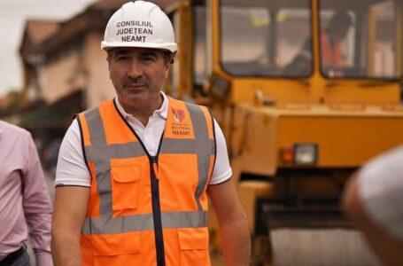 Ionel Arsene (președinte CJ Neamț): Ultimele detalii pentru modernizarea unui sector din Drumul Talienilor