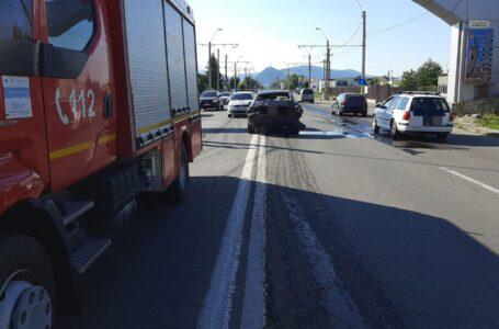 Accident cu 3 victime la intrarea în Piatra-Neamț
