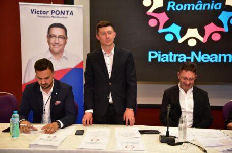 A fost aleasă conducerea PRO România – organizaţia Piatra-Neamţ