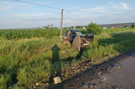 Un nou accident grav pe E85, în Neamţ