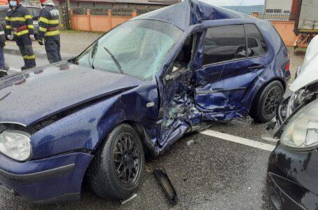 Accident la Hanul Ancuţei, pe drumul european