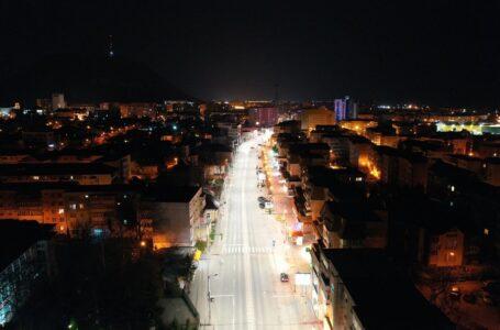 Iluminat public la standarde europene în Piatra-Neamț