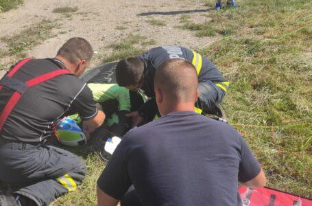 ALERTĂ Un parapantist s-a prăbuşit la Pângăraţi. A fost prealertat elicopterul SMURD.