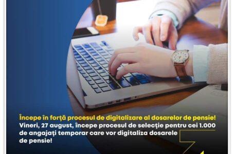 Deputat Mara Calista (PNL Neamț): Începe în forță procesul de digitalizare a dosarelor de pensie!