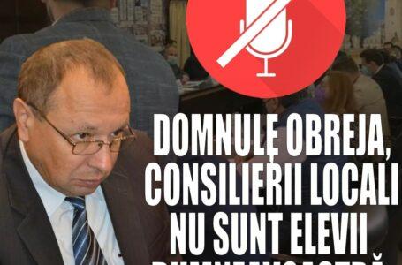 """Florentina Moise îi bate obrazul lui Mihai Obreja: """"Consilierii locali nu sunt elevii d-voastră"""""""
