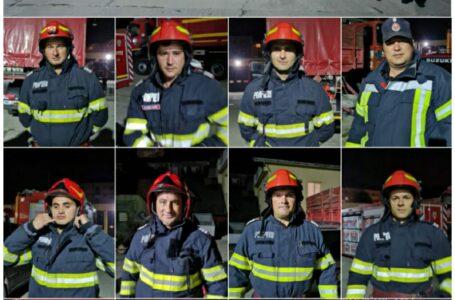 FOTO – 12 pompieri din Neamț, în lupta cu incendiile din Grecia