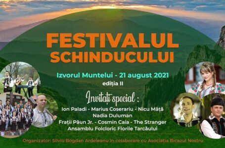 Astăzi – ediţia a doua a Festivalului Schinducului, pe platoul de sub barajul de la Bicaz