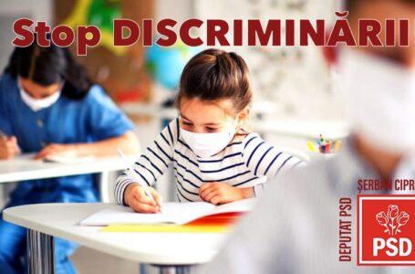 Deputatul Ciprian Şerban (PSD): Guvernul să nu condiţioneze accesul elevilor la ore în funcţie de vaccinare!