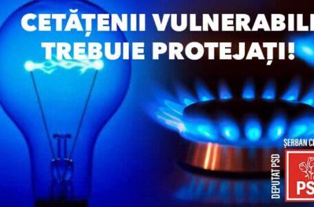 """Deputatul Şerban (PSD Neamţ): """"Consumatorii trebuie protejați în fața scumpirilor galopante la energie și gaze naturale!"""""""