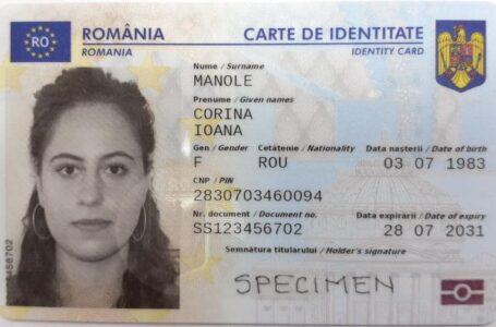 Oana Bulai (deputat PSD Neamţ): Guvernul de dreapta să ne anuleze identitatea națională prin noile buletine!