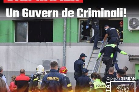 """Ciprian Şerban: """"Criminali! Un guvern de criminali!"""""""